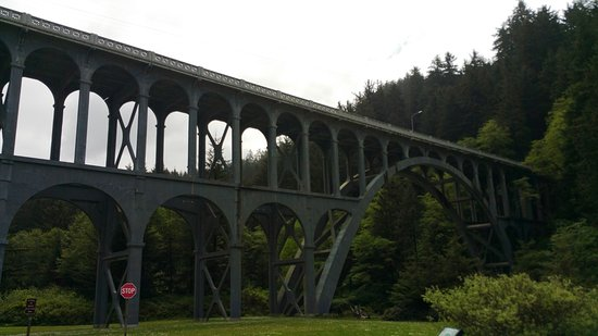 Florence, OR: bridge in the park
