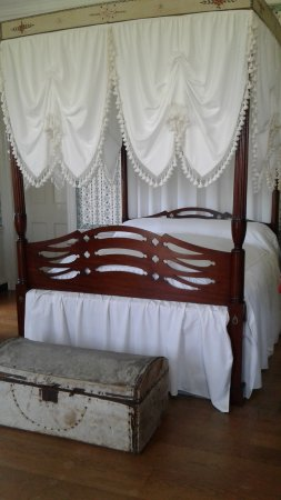 Thomaston, ME: Henry and Lucy's bed.