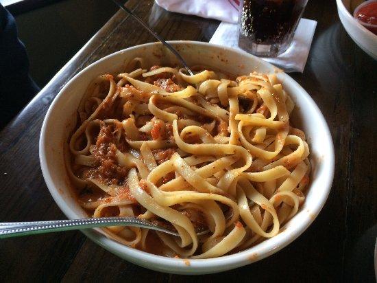 Milford, MI: Pasta with marinara sauce