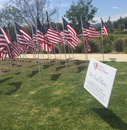 Murrieta, CA: The flags