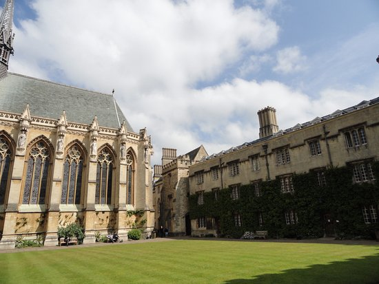 Exeter College Chapel and Student Building