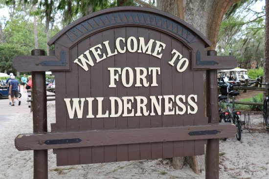 campsites at fort wilderness orlando