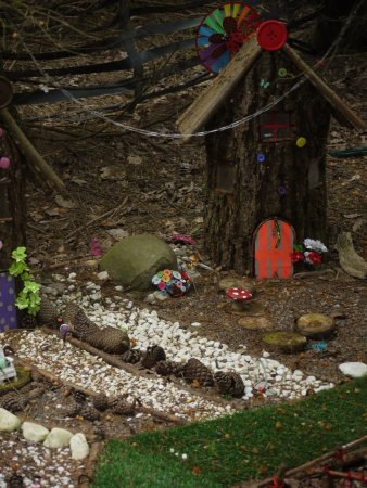 Balfron, UK: One of the better fairy gardens