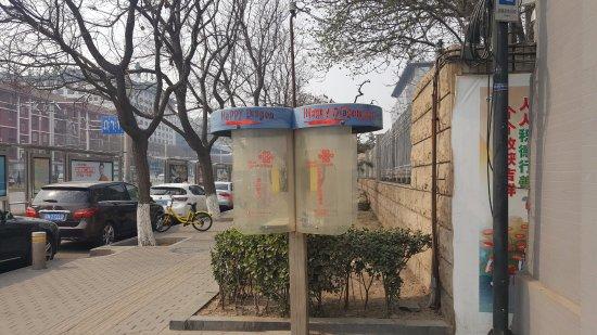 Happy Dragon Hostel: Indicaciones desde la avenida Dongsi W St.