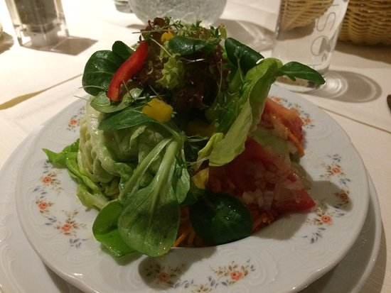 Eisenberg, Germania: Starter salad, December 2016