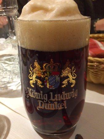 Eisenberg, Deutschland: King Ludwig's beer - December 2016