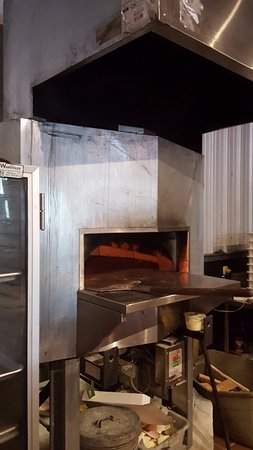 Camille's Wood Fired Pizza : Wood Fired Oven