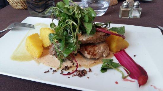 Idée de plat du jour : Agneau, légumes et sauce   Picture of L