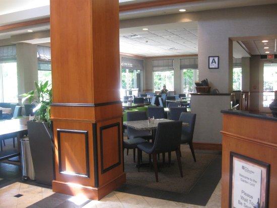 Garden Grill Dining Area Picture Of Hilton Garden Inn Louisville Airport Louisville