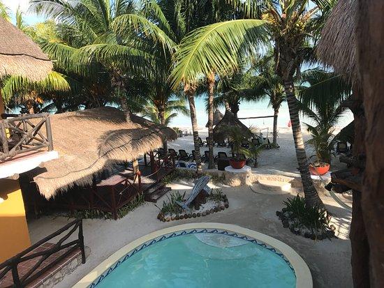 Holbox Dream Beach Front Hotel by Xperience Hotels: Buena vista desde el balcón de la habitación