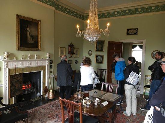 A Room Inside The Georgian House