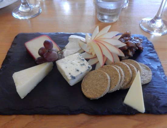 The Inn on the Tay : Cheese plate