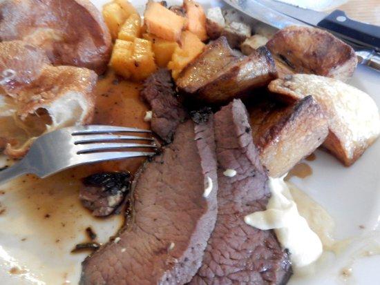 The Inn on the Tay : The next evening - our Sunday roast.