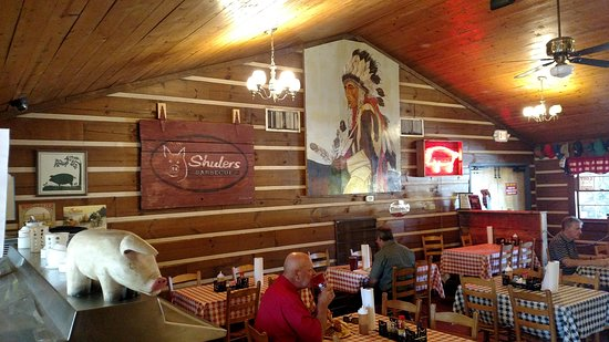 Shulers Barbecue: The food is amazing at this restaurant just off 95 at exit 181