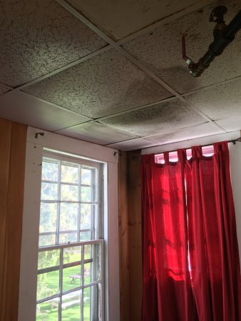 Richfield Springs, Νέα Υόρκη: ceiling water damage
