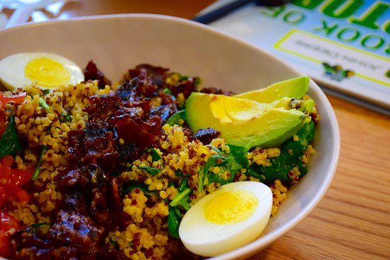 The Works Bakery Cafe: Quinoa power bowl