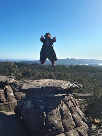 Wildlife Tours Australia: Levitating on top of the Mushroom Rock