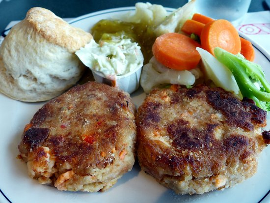 Lockeport, Kanada: Lobster cakes