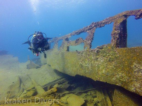Kraken Divers:  Cabo San Lucas Shipwreck-local dive