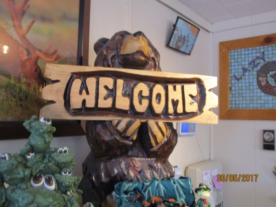 Lazy G Motel: Willkommen im Office