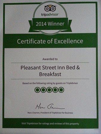 Pleasant Street Inn Bed & Breakfast 이미지
