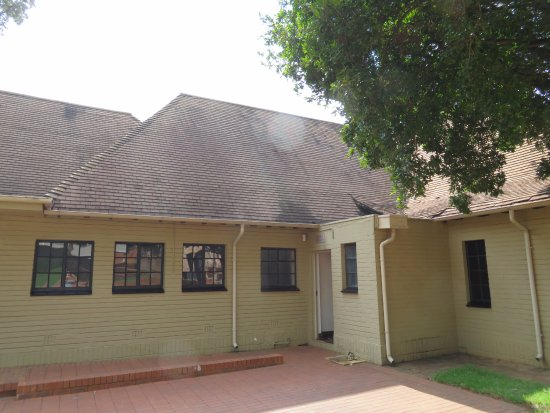Rivonia, South Africa: back entrance to main farmhouse