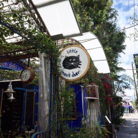 Beverly Hills, CA: French restaurants, The Little Next Door and The Little Door in Los Angeles.