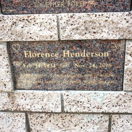 Beverly Hills, CA: The final resting place of America's favorite mom, Florence Henderson, in Los Angeles.