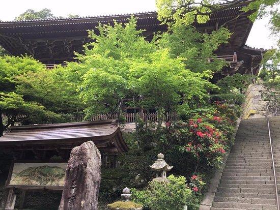 Mt Shosha hiking: Temple