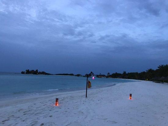 Four Seasons Resort Maldives at Kuda Huraa: Monsoon time but still warm and balmy...