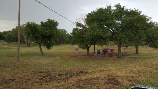 Clarendon, TX: Greenbelt Lake