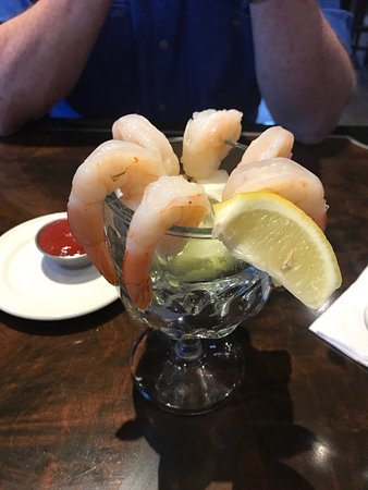 Etters, PA: jumbo shrimp cocktail