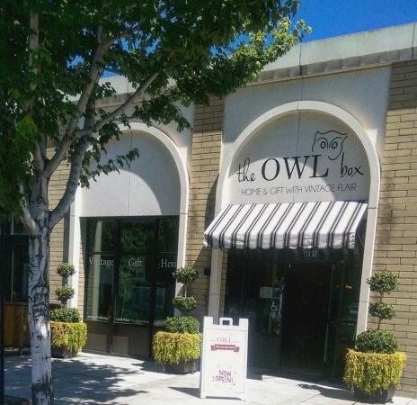 The Owl Box in downtown Tracy!