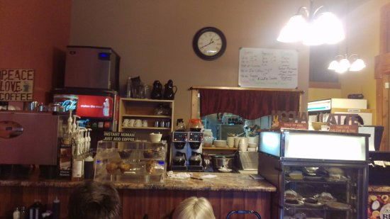 Savanna, إلينوي: counter area