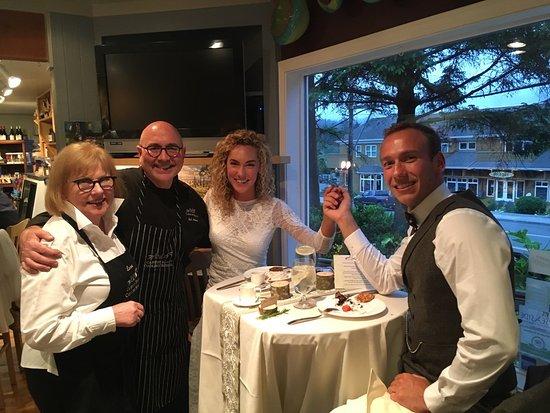 EVOO Cannon Beach Cooking School: Bob & Lenore