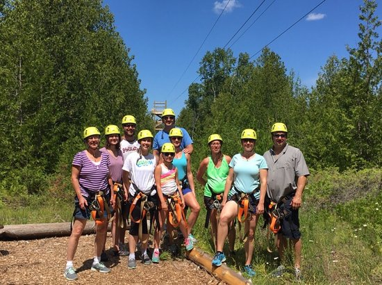Baileys Harbor, WI : Lakeshore Adventures Zip Line
