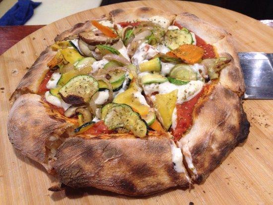 Jianchuan County, Chine : Pizza vegetariana