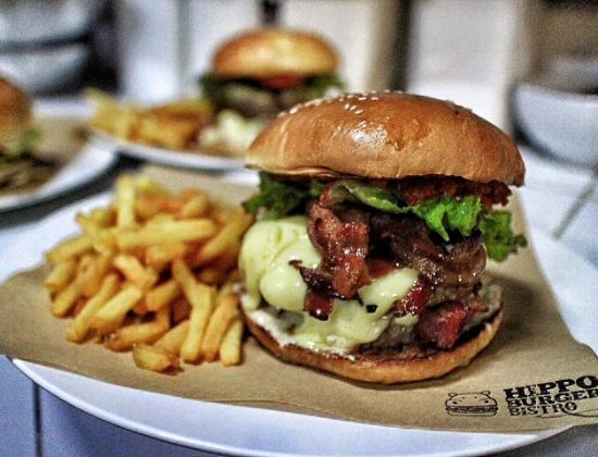 Hippo Bar & Grill: happy cow beef