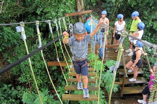 Roatan Ziplines, Beaches and Monkey