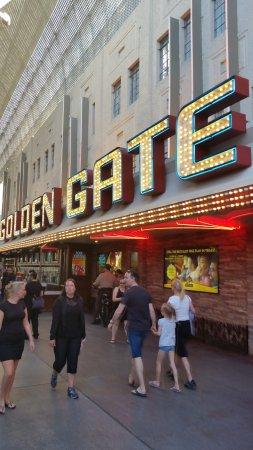Golden Gate Hotel & Casino: Entrance area
