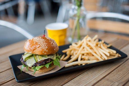 Lidcombe, Australia: Beef burger