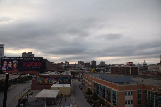 Holiday Inn Express Baltimore-Downtown: View from room 506