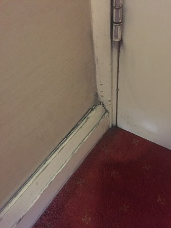Eyre Square Townhouse: Dirty floorboard