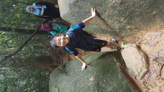 Negeri Sembilan, Malaysia: Gunung Datum family hike.