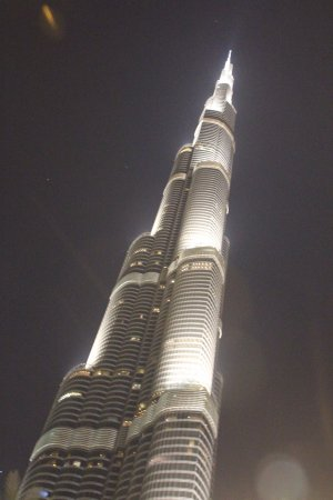 Golden Sands Hotel Apartments: Burj Khalifa