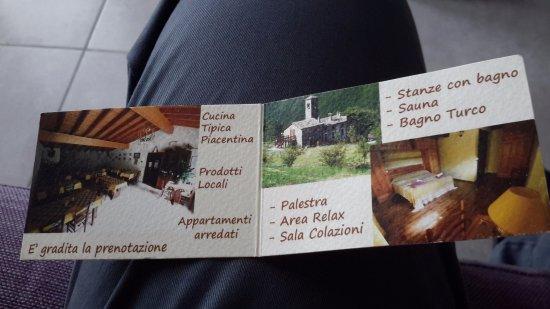 Bettola, Italia: Agriturismo  Cà Sonino