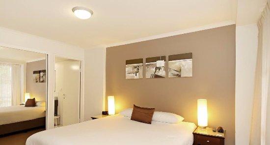 Quest Newcastle Apartments: Bedroom