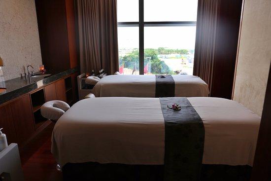 The Spa at Mandarin Oriental, Macau: My treatment room