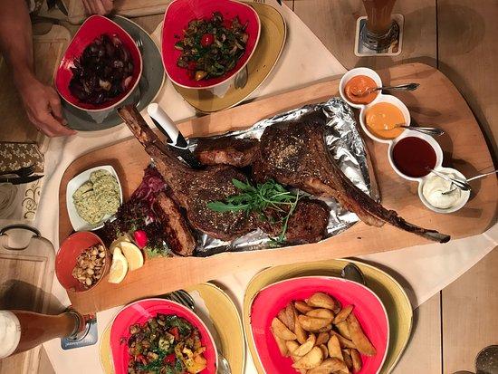 Landhotel Huber Am See: Porterhouse Steak nur auf Vorbestellung
