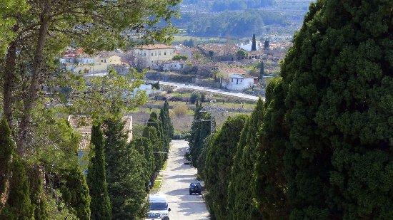 Alcalali, Espanha: Vistas via crucis desde la Ermita del Calvari